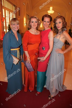 Kristina Sprenger, Petra Morze, Nicole Beutler, Lilian Klebow