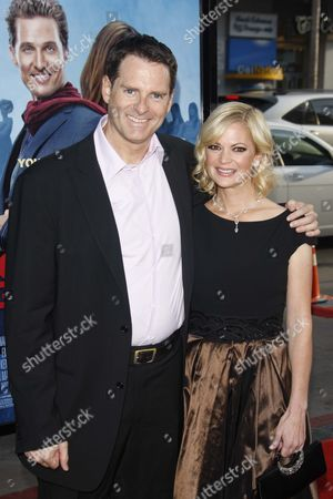 Mark Waters, Director, with wife Dina Spybey
