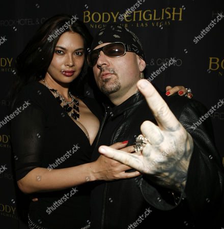 Tera Patrick and Evan Seinfeld at the Velvet Revolver Concert After Party at Body English in the Hard Rock Hotel Las Vegas Nevada February 3 2008 Â United States Las Vegas