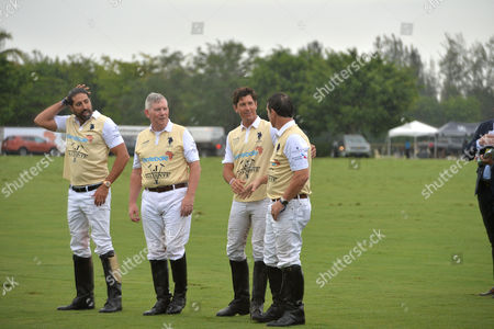 Editorial image of Sentebale Polo Cup Presented by Royal Salute World Polo in Wellington Florida with Prince Harry - Trophy - 04 May 2016