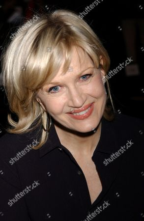 Diane Sawyer Backstage During the Narcisco Rodriguez Fall 2004 Collection Held in Bryant Park On Tuesday February 10 2004 in New York