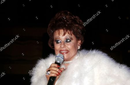 Stock Photo of Tammy Faye Tammy Faye Tastes New York with Laura Branigan Webster Hall Nyc May 21 2002 Â