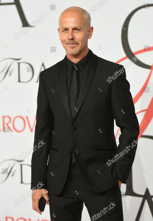 Italo Zucchelli arrives at the 2015 CFDA Fashion Awards at Alice Tully Hall in New York. Designers Francisco Costa and Zucchelli are leaving Calvin Klein as part of what it describes as a global creative strategy to unify all of the company's brands under one vision. In a company release, Calvin Klein said the new strategy 'comes as part pf a global revolution in the direction of the Calvin Klein brand.â