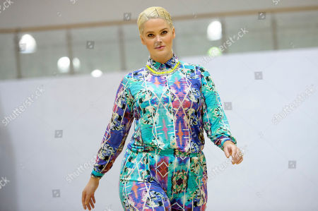 Editorial picture of CORRECTION Britain Fashion Week Plus Size, London, United Kingdom