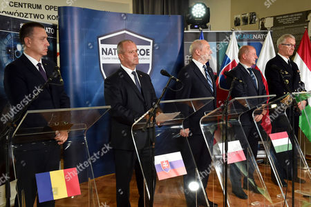 Manfred Nielson, Antoni Macierewicz, Peter Gajdos, Mihai-Viorel Fifor and Istvan Simicsko