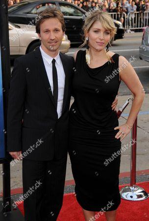 Breckin Meyer and Deborah Kaplan