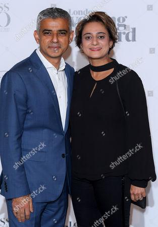 Saadiya Khan and Sadiq Khan