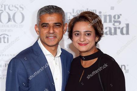 Sadiq Khan and Saadiya Khan