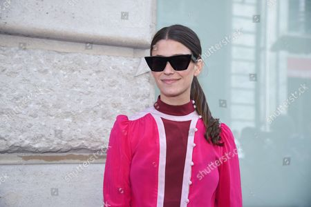 Editorial photo of Street Style, Spring Summer 2018, Paris Fashion Week, France - 01 Oct 2017