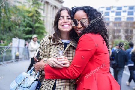 Leandra Medine and Shiona Turini