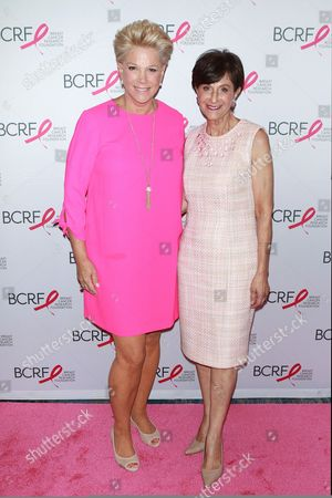 Joan Lunden and Myra Biblowit