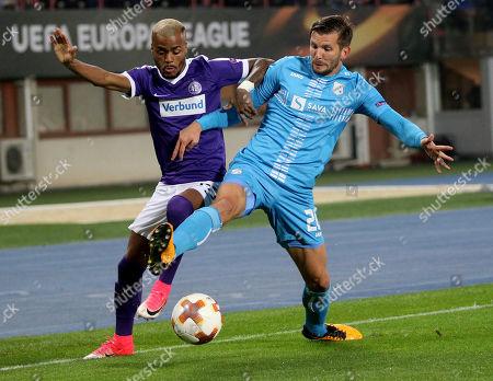 Editorial photo of Soccer Europa League, Vienna, Austria - 19 Oct 2017