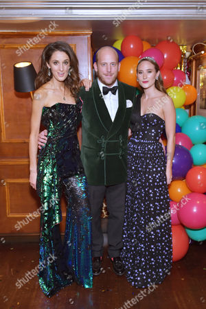 Rosanna Falconer, Carlo Carello and Alexandra Carello
