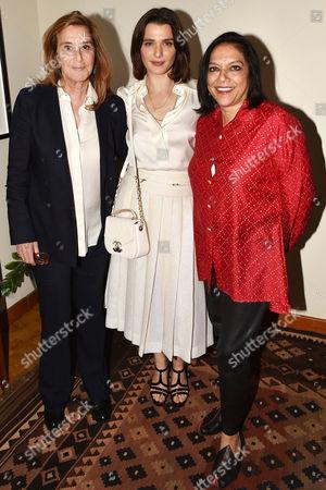 Stock Picture of Paula Weinstein, Rachel Weisz, Mira Nair