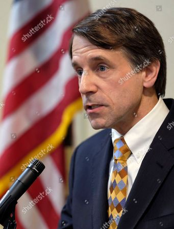 DAVE JONES. California's insurance commissioner Dave Jones talks during a news conference in Los Angeles on . Jones says preliminary estimates of losses from the state's recent siege of wildfires exceed $1 billion and that the figure is expected to rise. Jones told reporters that the estimate comes from the eight largest insurers in the affected areas
