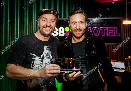 Editorial photo of David Guetta wins Dance Smash Award at ADE, Amsterdam, Netherlands - 19 Oct 2017
