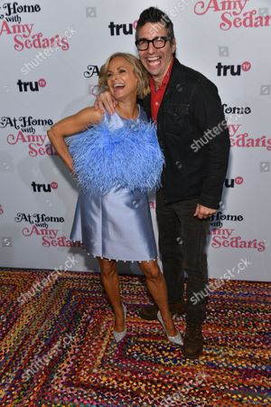 Stock Picture of Amy Sedaris, Paul Dinello