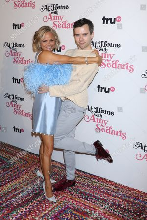 Amy Sedaris and Cole Escola