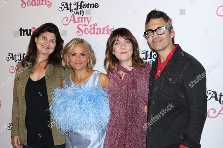 Cindy Caponera, Amy Sedaris, Jodi Lennon and Paul Dinello, Co-creator and Executive Producer
