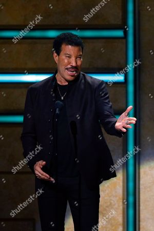 Stock Picture of Lionel Ritchie is seen at 2017 CMT Artist of the Year Awards at Nashville's Schermerhorn Symphony Center, in Nashville, Tenn