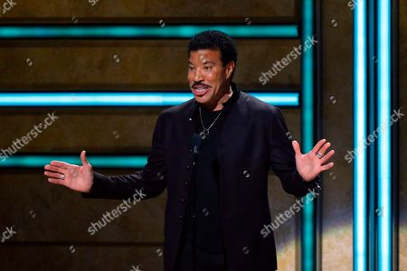 Stock Image of Lionel Ritchie is seen at 2017 CMT Artist of the Year Awards at Nashville's Schermerhorn Symphony Center, in Nashville, Tenn