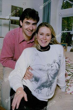 Former Cricketer Christopher (chris) Cowdrey And Wife Christel Who Is Expecting Twins. (he Is The Son Of Former England Cricket Captain Colin Cowdrey) Box 763 110806175 A.jpg.