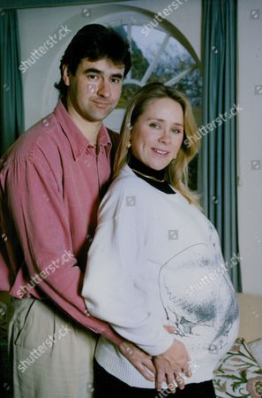Former Cricketer Christopher (chris) Cowdrey And Wife Christel Who Is Expecting Twins. (he Is The Son Of Former England Cricket Captain Colin Cowdrey) Box 763 110806176 A.jpg.