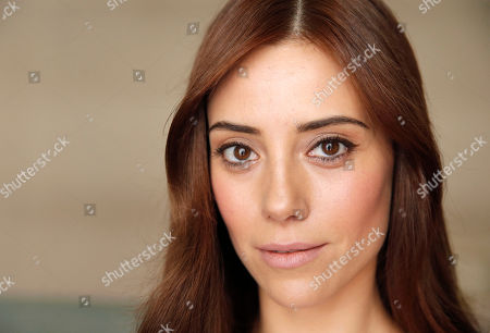 Model Cansu Dere poses during a portrait session at the 66th international film festival, in Cannes, southern France