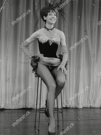 Dancer Christine Craig (real Name: Christine Pockett) At Talk Of The Town. She Is Married To Singer Craig Hunter. Box 765 319061740 A.jpg.