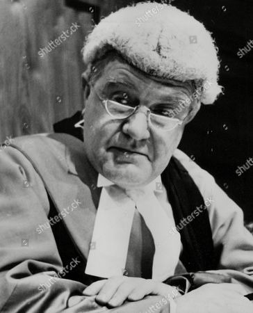 Actor Andrew Cruickshank As Mr Justice Carstairs In The Play: Alibi For A Judge At The Savoy Theatre. Box 768 629061720 A.jpg.