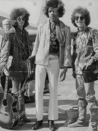 Jimi Hendrix And The Members Of His Band The Jimi Hendrix Experience Noel Redding And Mitch Mitchell. Box 777 204081736 A.jpg.