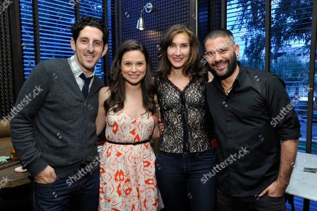 Adam Shapiro, Katie Lowes, Lollipop Theater's Evelyn Iocolano and Guillermo Diaz at Lollipop Theater Network's 'Scandalicious May', on Wednesday, May, 8, 2013 in West Hollywood