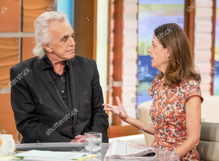 Stock Image of Peter Stringfellow and Lucy Beresford
