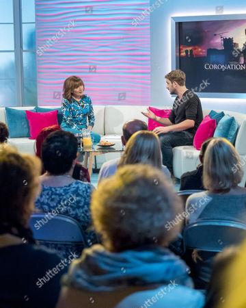 Editorial photo of 'Lorraine' TV show, London, UK - 20 Oct 2017