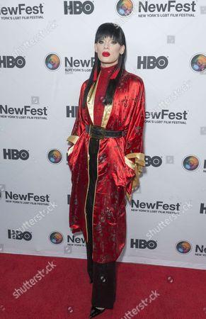 Kyle Farmery attends Susanne Bartsch: On Top premiere at NewFest