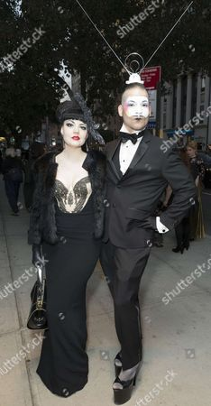 Stock Image of Muffinhead (R) attends Susanne Bartsch: On Top premiere at NewFest