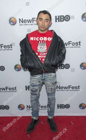 Stock Image of Nicola Formichetti attends Susanne Bartsch: On Top premiere at NewFest