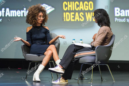 Editorial photo of Chicago Ideas Week, Day 3, USA - 19 Oct 2017