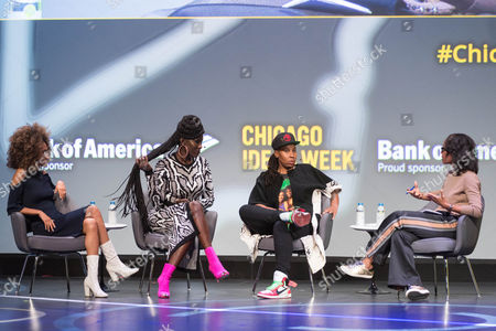 Editorial image of Chicago Ideas Week, Day 3, USA - 19 Oct 2017