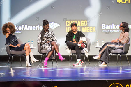 Editorial picture of Chicago Ideas Week, Day 3, USA - 19 Oct 2017