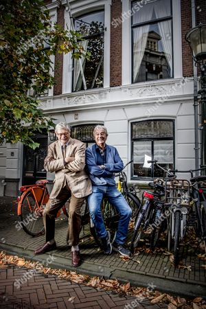 Editorial picture of Ter Linden and Verhoeven photo shooting, The Hague, The Netherlands - 20 Oct 2017