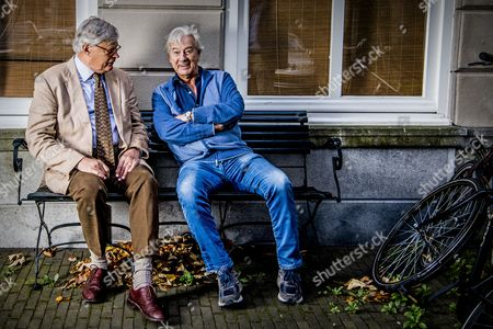 Editorial image of Ter Linden and Verhoeven photo shooting, The Hague, The Netherlands - 20 Oct 2017