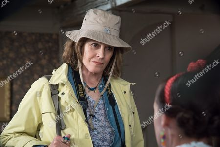 Stock Image of (SR8:Ep8) - Selina Cadell as Mrs Tishell and Sigourney Weaver as Beth Traywick.