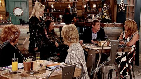 Ep 9293 Monday 6th November 2017 - 1st Ep As Johnny Connor, as played by Richard Hawley, and Jenny Connor, as played by Sally-Ann Matthews, sit down to dinner in the bistro, they're confronted by Beth Sutherland, as played by Lisa George, and Izzy Armstrong, as played by Cherylee Houston, demanding to know when the factory will reopen now that the money has come through. They're shocked when Johnny reveals his plans to retire and move to Spain. Jenny's gobsmacked.