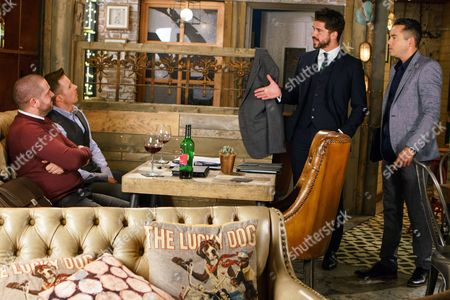 Stock Picture of Ep 9291 Friday 3rd November 2017 - 1st Ep In the solicitors' office, upbeat Adam Barlow, as played by Sam Robertson, tells Todd Grimshaw, as played by Bruno Langley, that he's arranged a meeting with a potential new client who could prove very lucrative for the firm. Todd's delighted, thinking it could pay for Summer's school fees. Adam and Todd are infuriated when their potential client cancels having spoken to Aidan Connor, as played by Shayne Ward, and had chapter and Ben Mount on their underhand dealings.