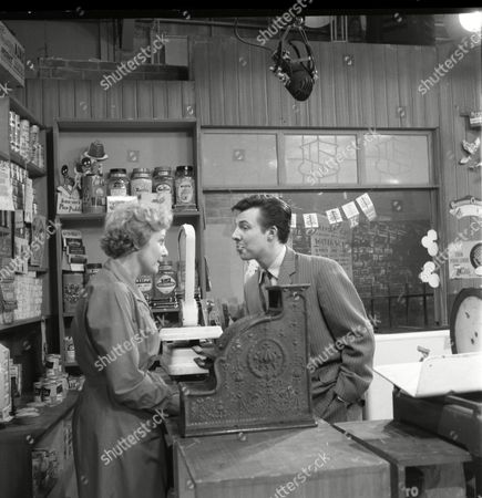 Betty Alberge (as Florrie Lindley) and Philp Lowrie (as Dennis Tanner)