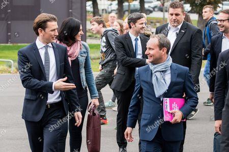 Sebastian Kurz and Matthias Strolz