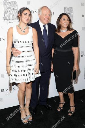 Ginevra Bulgari, Beatrice Bulgari, Nicola Bulgari