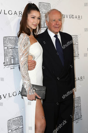 Bella Hadid, Nicola Bulgari