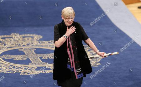 Editorial image of Princess of Asturias Awards ceremony, Oviedo, Spain - 20 Oct 2017